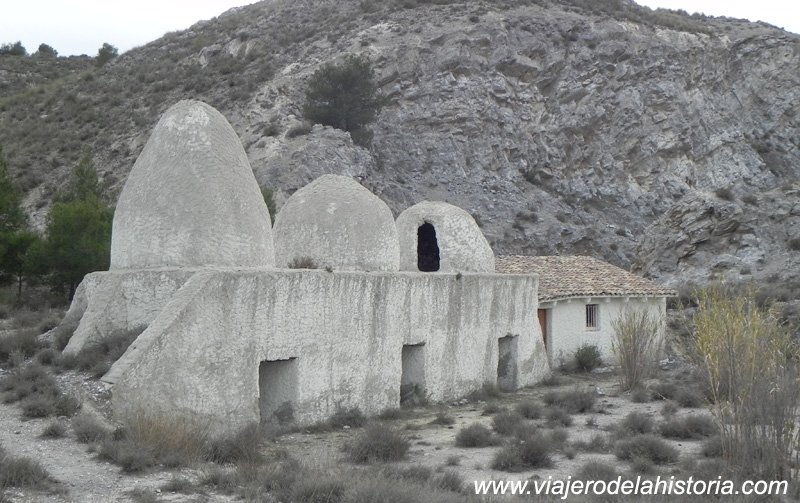 imagen de hornos de yeso, Villena, Alicante