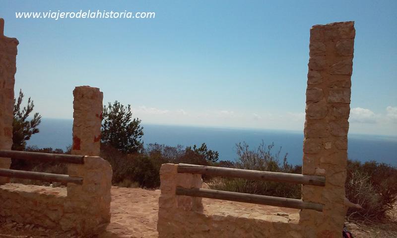 Mirador de la cala Granadella, Xàbia / Jávea, Alicante