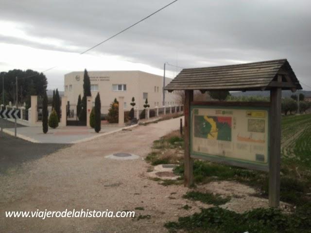 imagen de Inicio de la Vía Verde en Villena