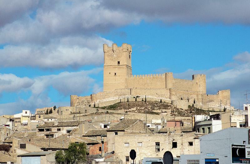 Imagen del Castillo de Villena