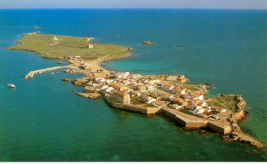 Vista General de la Isla de Tabarca