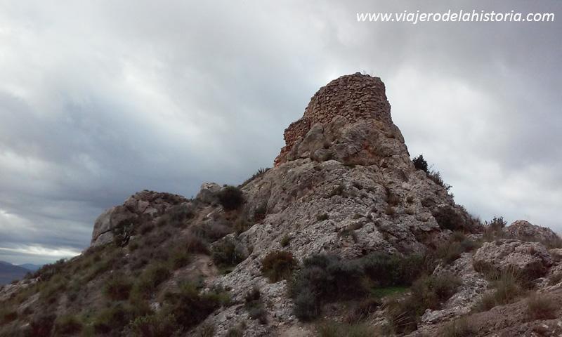 imagen del castillo de Salvatierra, en Villena, Alicante