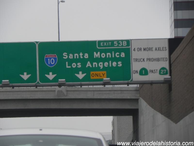 imagen de cartel de Santa Mónica, Los Angeles, California