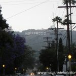 imagen del cartel de Hollywood visto desde Beverly Hills