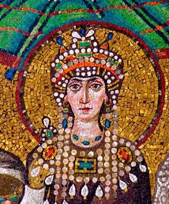 imagen de Teodora emperatriz de Bizancio