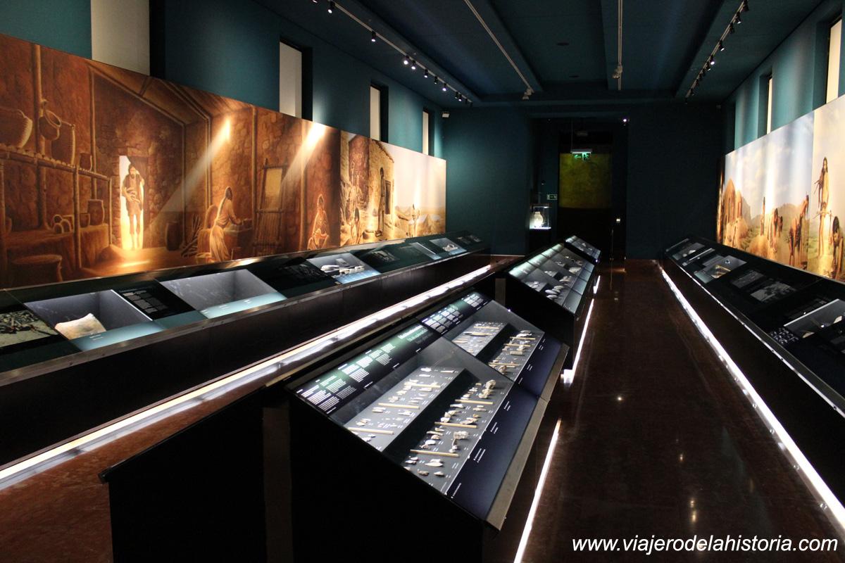 imagen de la Sala de Prehistoria del MARQ
