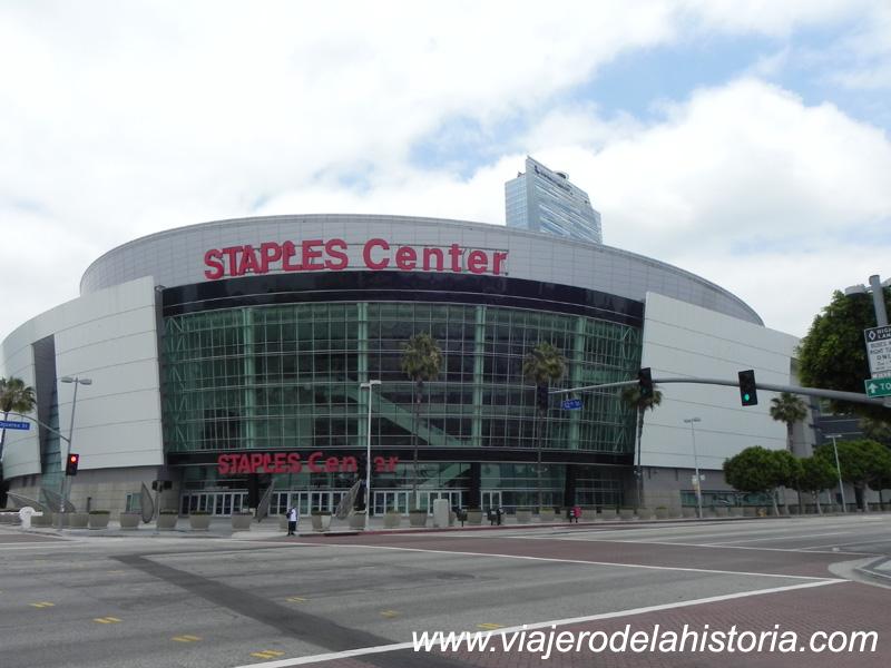 imagen del Staples Center, Los Ángeles, California, USA