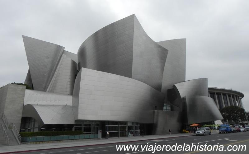 imagen del Walt Disney Concert Hall, Los Ángeles, California, USA