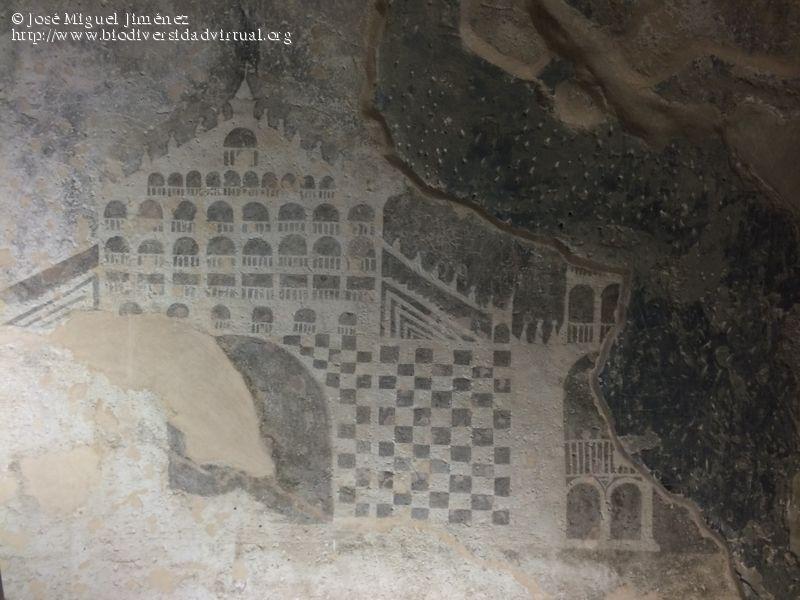 imagen de Grabados en el interior de la Torre del Homenaje, Villena, Alicante