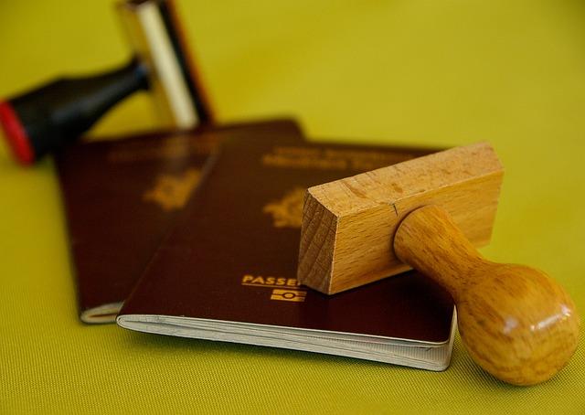 imagen de pasaporte para viajar solo