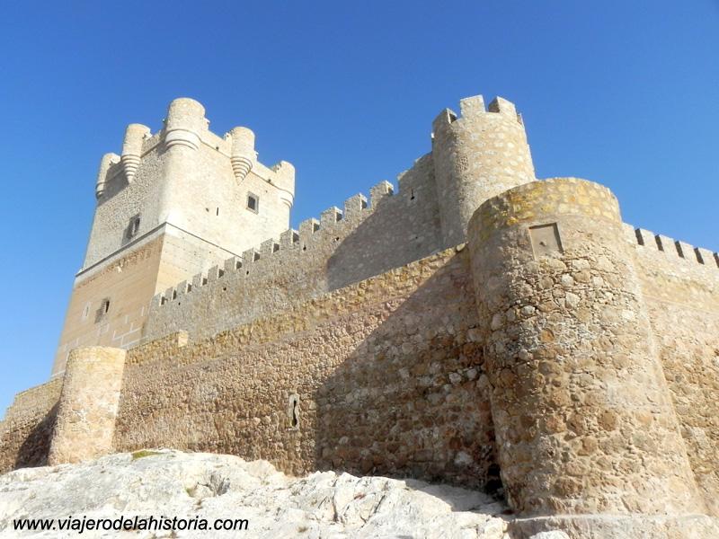 imagen de Vista trasera del Castillo de la Atalaya, Villena, Alicante