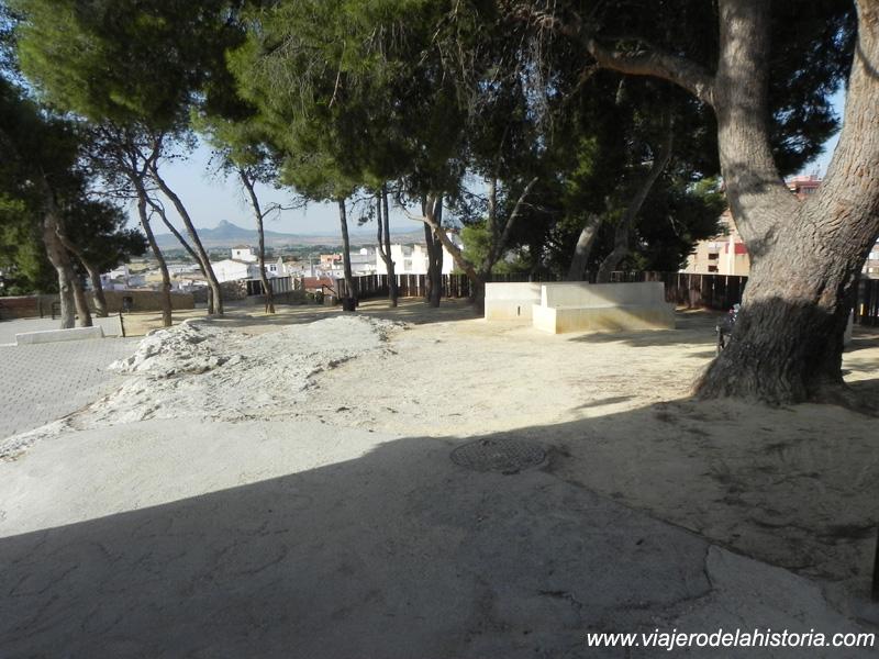 imagen de Recinto del mirador de Santa Bárbara, Villena, Alicante
