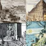 imagen de siete maravillas del mundo antiguo