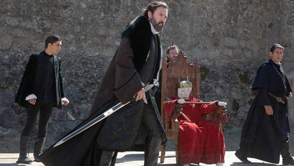 """imagen del Marqués de Villena, interpretado por Ginés García Millán en la serie """"Isabel"""" de TVE (Sensacine)."""
