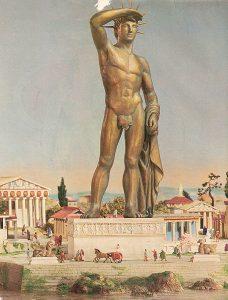 imagen del Coloso de Rodas