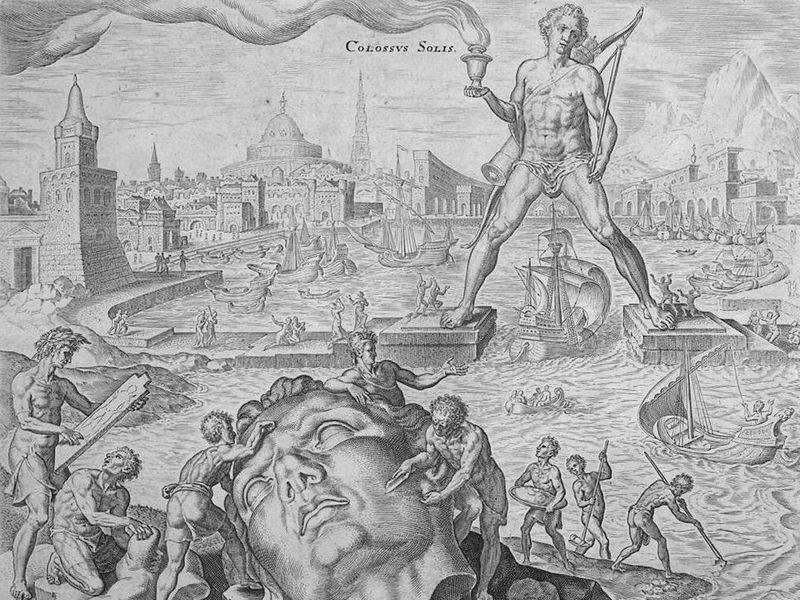 imagen de Coloso de Rodas de Heemskerck