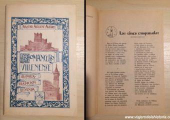 imagen de la leyenda de las Cinco Campanadas en el Romancero Villenense