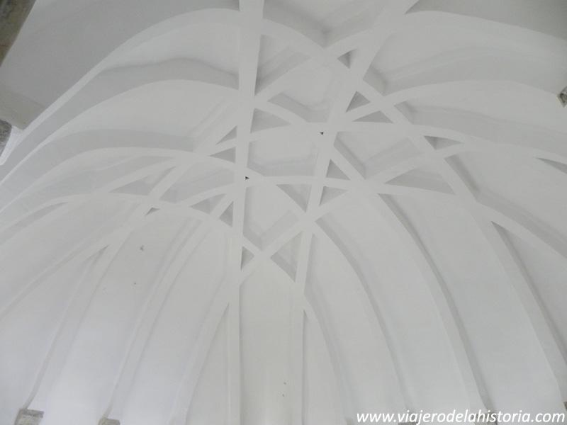 imagen de bóveda almohade del Castillo de la Atalaya, Villena