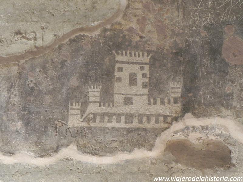imagen de grabados del castillo de Villena