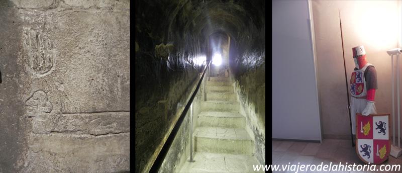 imagen del interior del Castillo de la Atalaya, Villena, Alicante