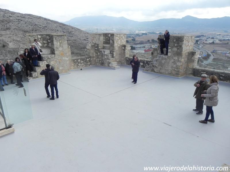 imagen de Terraza de la Torre del Homenaje del castillo de Villena, Alicante