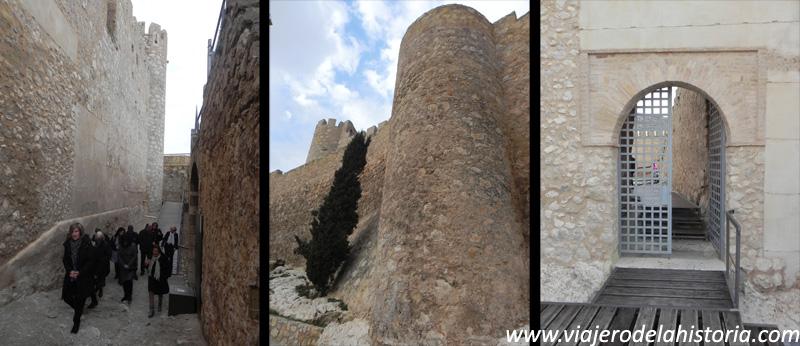 imagen de visitas al castillo de Villena, Alicante