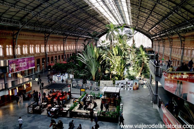Museos y jardines de Madrid: Jardín de la Estación de Atocha, Madrid
