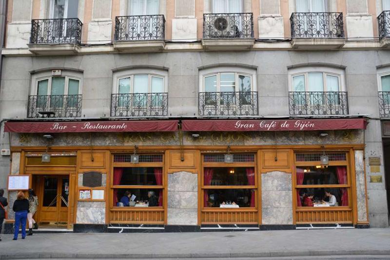 imagen de Café Gijón, Madrid, España