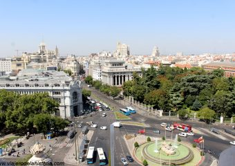 imagen de Fuente de Cibeles, vista desde el Mirador Madrid