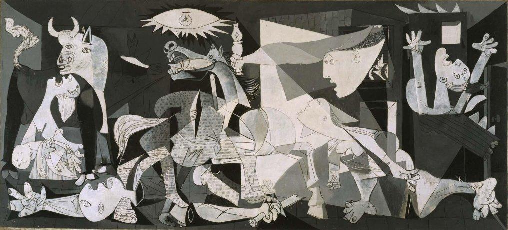 imagen del Guernica de Picasso