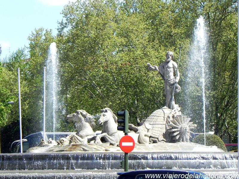 Imagen de Fuente de Neptuno, Madrid, España