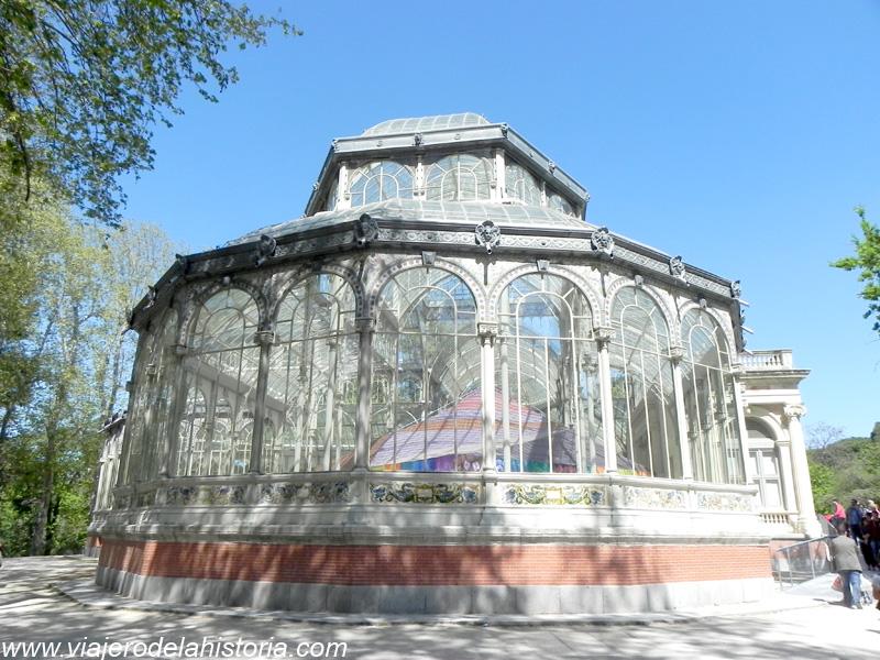Museos y jardines de Madrid: Palacio de Cristal del Retiro, Madrid, España