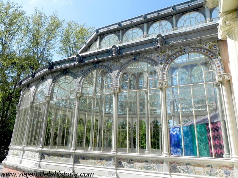 imagen del Palacio de Cristal del Retiro, Madrid, España