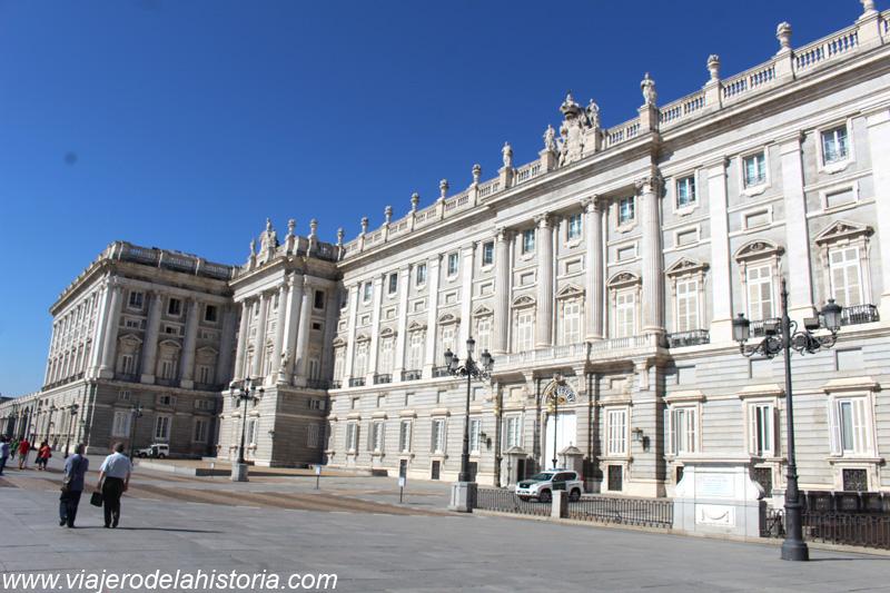imagen del Palacio Real, Madrid