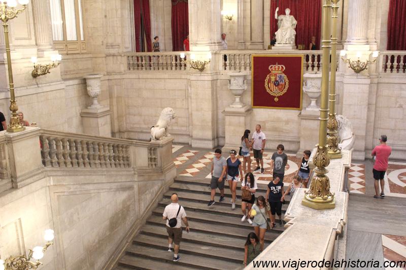 imagen de Escalera Principal del Palacio Real