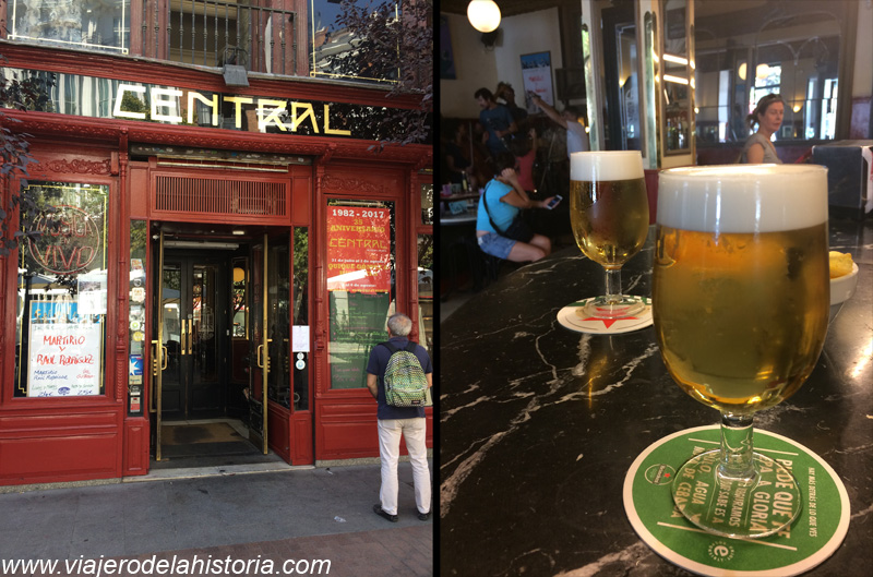 imagen de Café Central en la Plaza del Ángel, Madrid