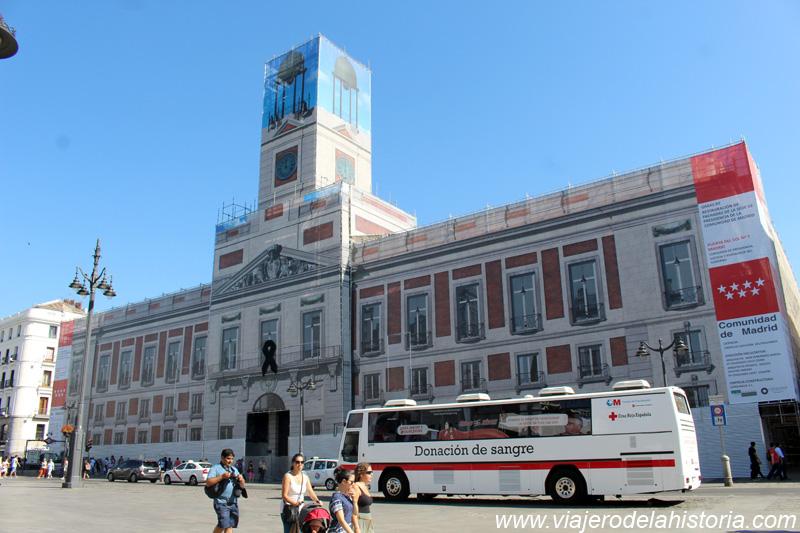 imagen de la Casa de Correos en la Puerta de Sol, Madrid