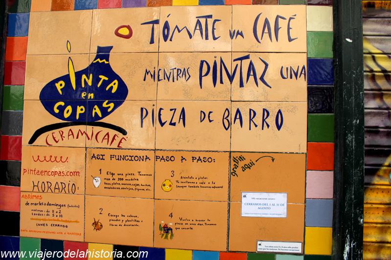 imagen de Ceramicafé en Malasaña, Madrid, España