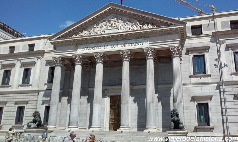 imagen del Congreso de los Diputados, Madrid, España