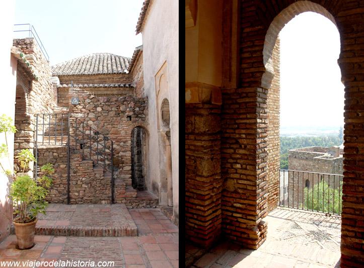 imagen de pasajes y miradores de la Alcazaba de Málaga