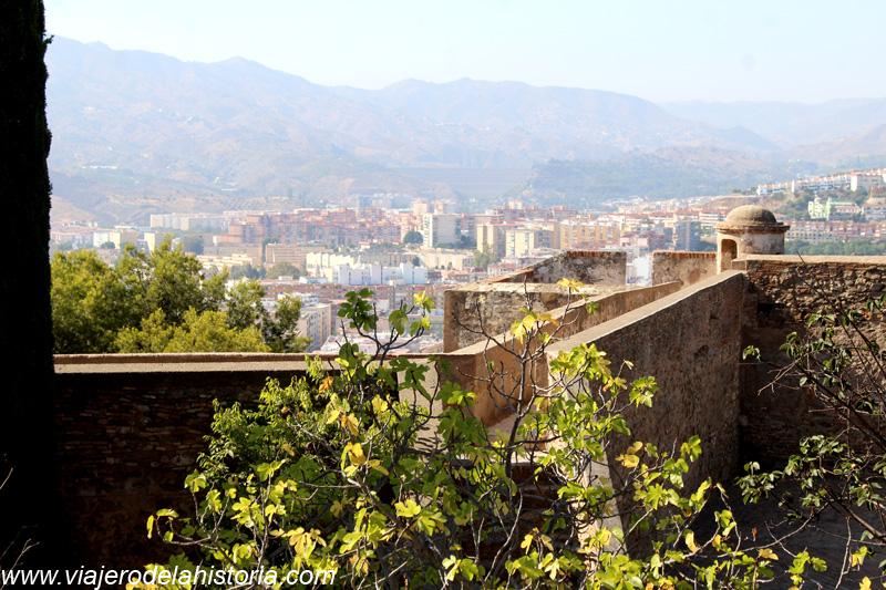 imagen del Castillo de Gibralfaro