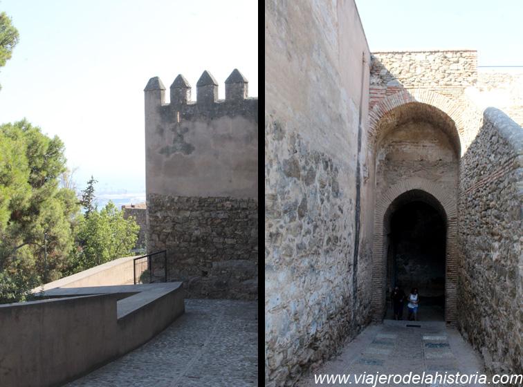 imagen de Parte inferior y murallas del Castillo de Gibralfaro