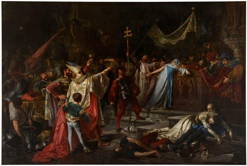 imagen del saqueo de Roma