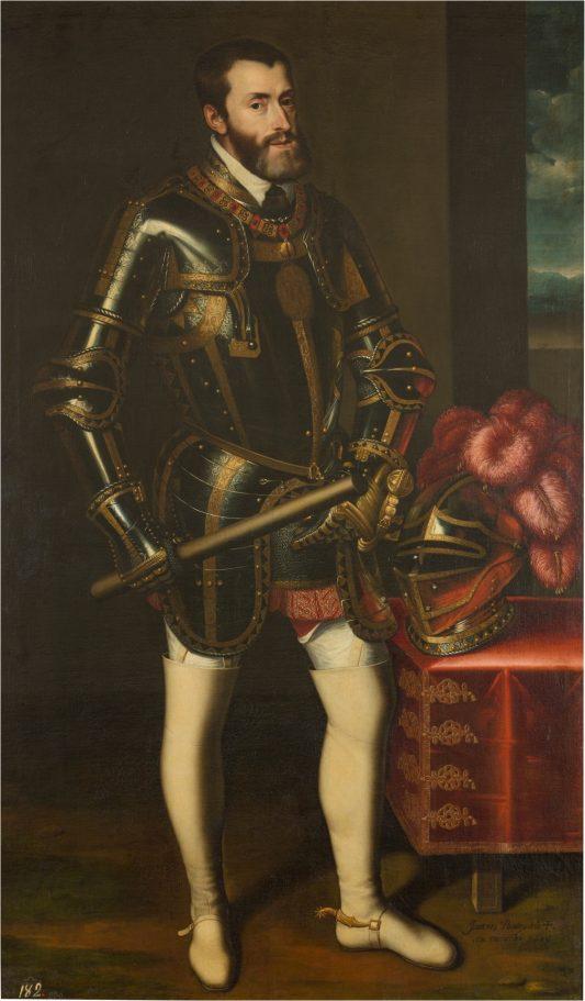 imagen del el emperador Carlos V