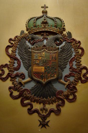 imagen de Escudo Imperial de Carlos V, Ayuntamiento de Huesca
