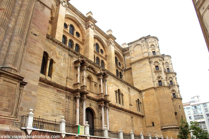 imagen de lateral Sur de la Catedral de Málaga