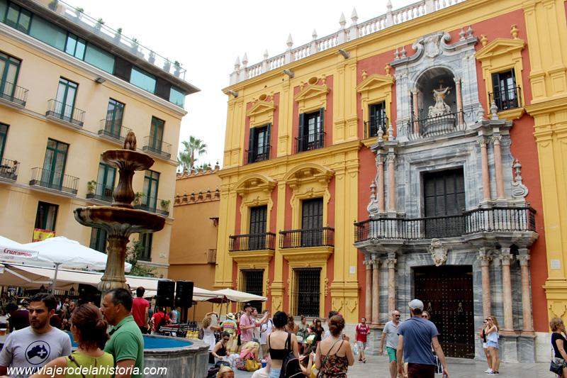 imagen de Palacio Episcopal, en la Plaza del Obispo de Málaga