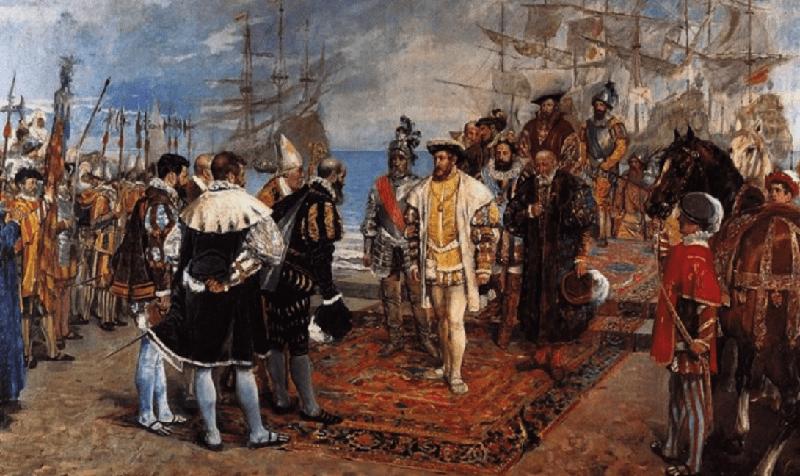 imagen de Desembarco de Francisco i en el Puerto de Valencia