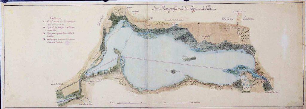 imagen de plano de la Laguna de Villena