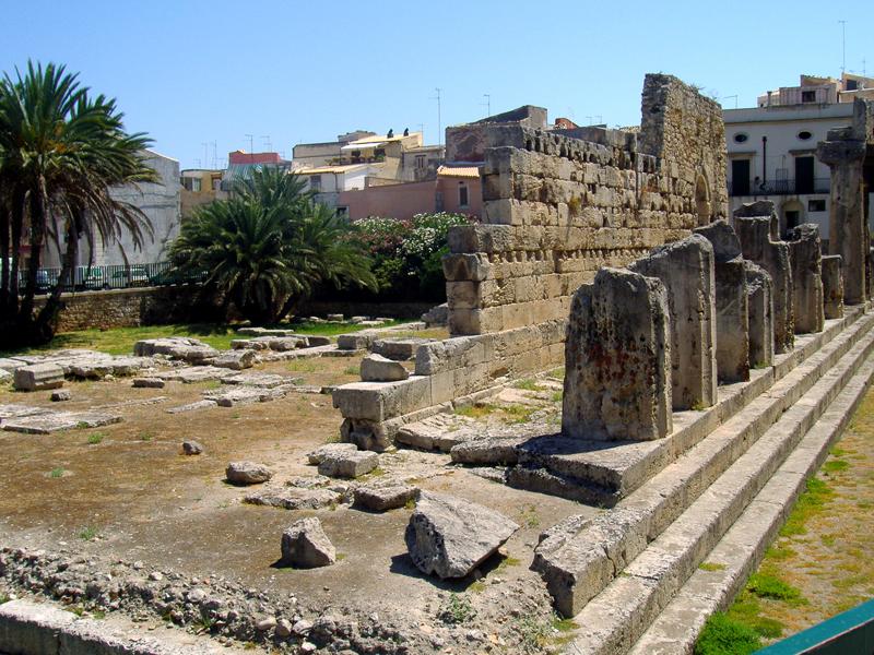 imagen de Templo de Apolo en Siracusa, Italia